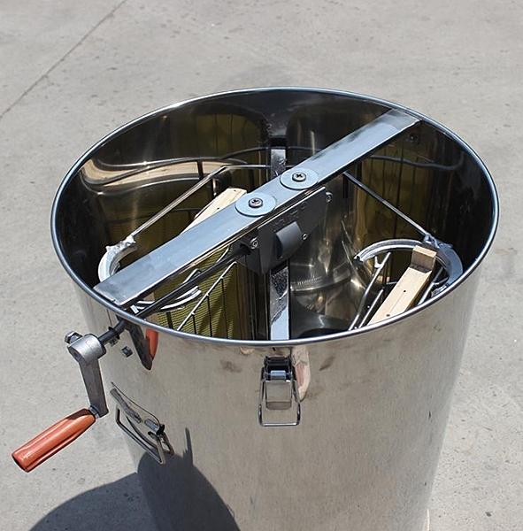自翻脾搖蜜機小型家用中蜂蜂蜜搖糖機 304全不銹鋼自動翻脾打蜜機 小山好物