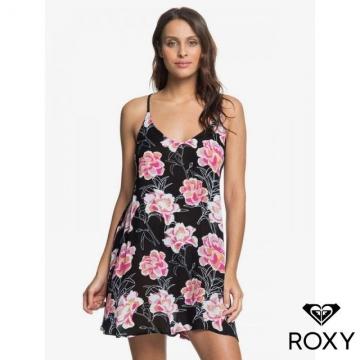 【ROXY】PT BE IN LOVE DRESS 洋裝 黑色