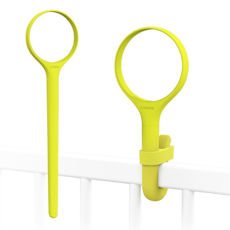 Lollipop換色矽膠環柄組(開心果黃) Lollipop換色矽膠環柄組(開心果黃)