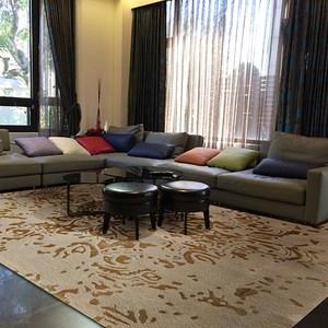 【山德力】親膚厚實 暖心 紐西蘭羊毛地毯-金彩 160x230cm