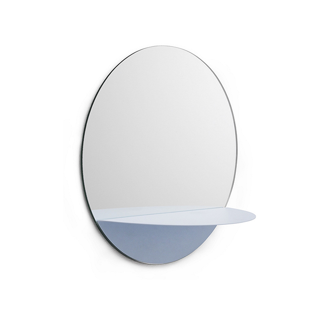 Normann Copenhagen Horizon 水平線系列 壁面 掛鏡 / 鏡子 - 圓形款(淺藍色)
