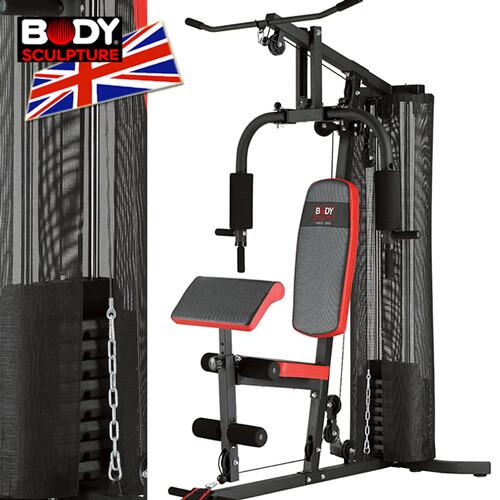 body sculpture150磅綜合重量訓練機(附護網+二頭肌板)  mc016-4302