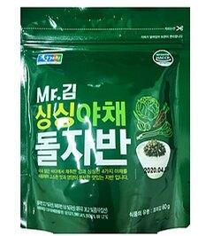 韓國原裝 金先生炒海苔酥.原味.蔬菜(60g) 韓國進口金色拌飯 海苔鬆 老字號 炒海苔(依凡卡百貨)
