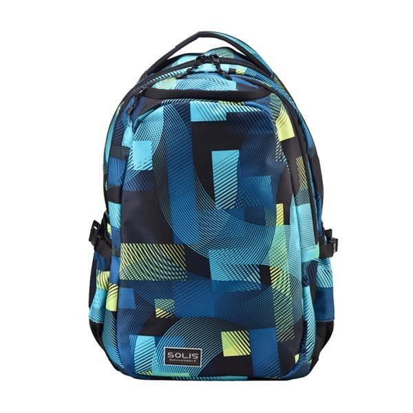 SOLIS【馬戲團系列 】 Ultra+ 大尺寸基本款電腦後背包 (嬉戲藍)