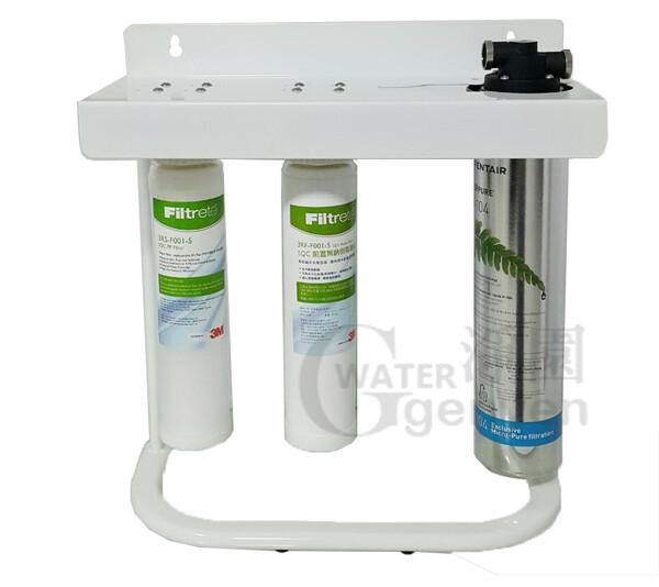 everpure h104 加強除鉛抑垢型生飲淨水器三道式腳架組