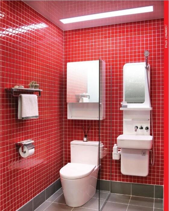 洗樂適ceraxcebien韓國多功能複合式盥洗台面盆/浴櫃/化妝鏡/水龍頭/滑桿/蓮蓬頭