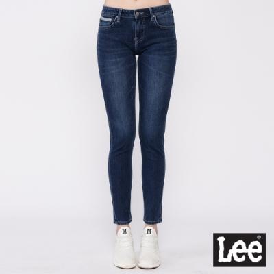 Lee 433 四面彈牛仔褲 中腰合身窄管 女款 中藍色