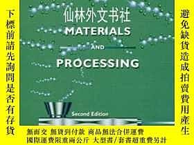 二手書博民逛書店【罕見】Plastics: Materials And Proc