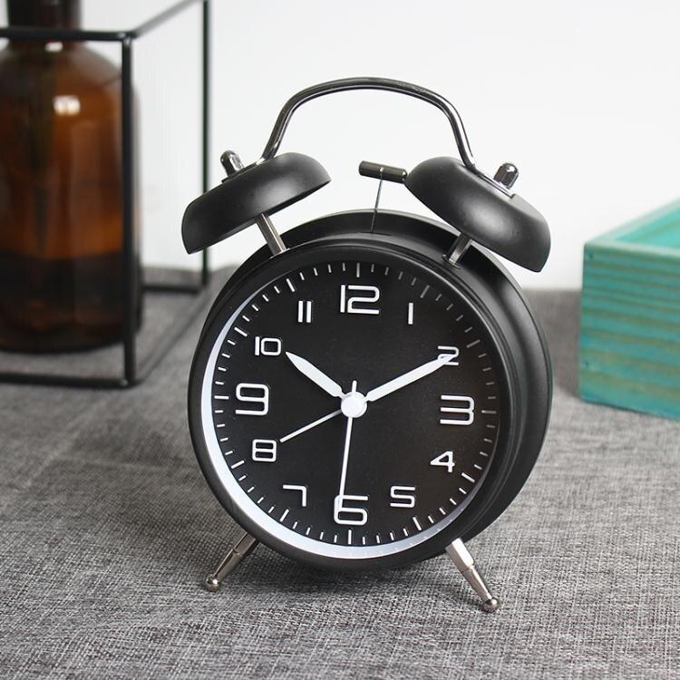鬧鐘 機械超大聲可愛鬧鐘創意簡約學生靜音臥室床頭起床神器全館折扣限時優惠