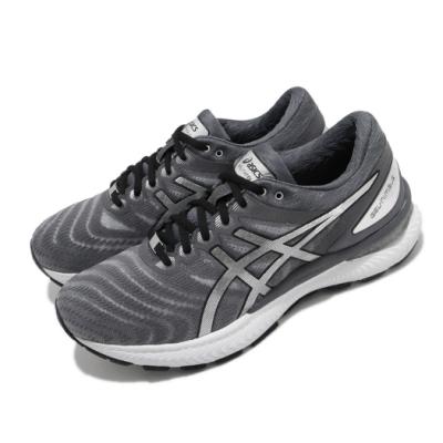 Asics 慢跑鞋 Gel-Nimbus 22 白金版 男鞋 亞瑟士 避震 高緩衝 輕量 亞瑟膠 灰 銀 1011A779020
