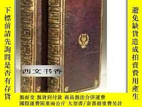二手書博民逛書店1816年倫敦出版,彌爾頓兩卷本《失樂園》John罕見Milto
