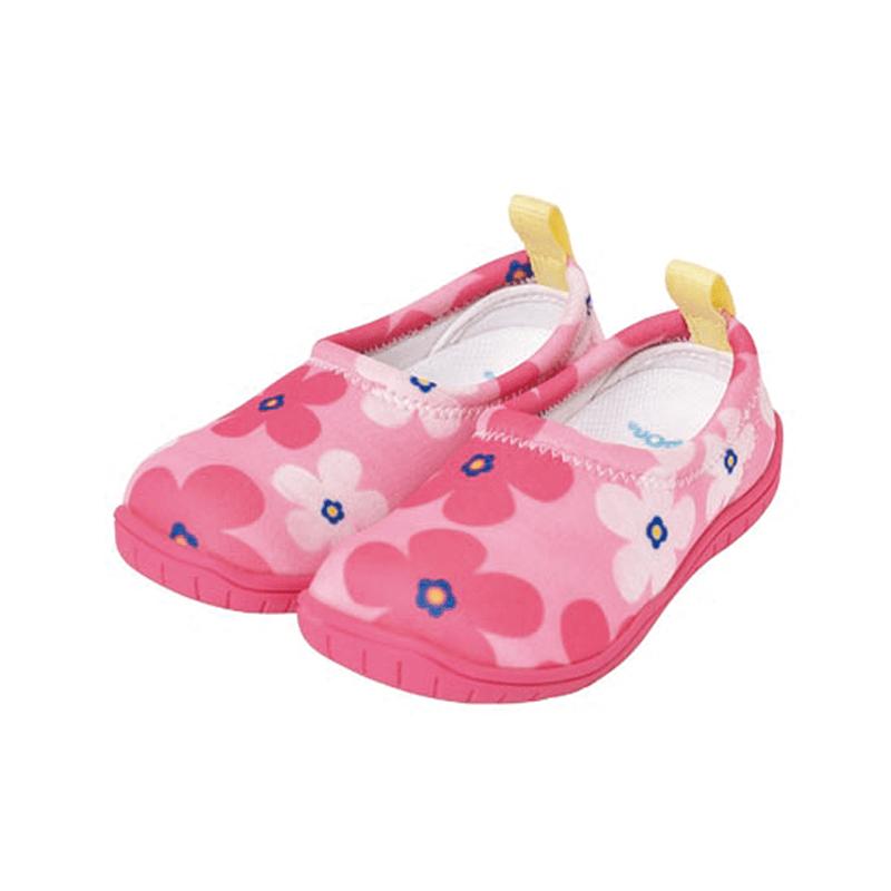 兒童休閒機能鞋「ISEAL VU系列」-北歐花朵 15cm