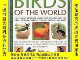 二手書博民逛書店2012年出版,作者David罕見Alderton圖說世界上鳥類