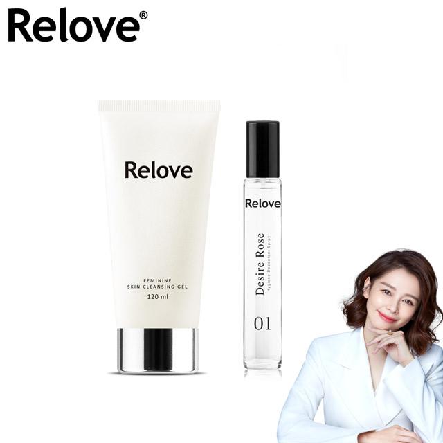 Relove私密胺基酸潔淨凝露120ml+ReloveG7私密弱酸私密護理噴霧-東方經典白茶15ml