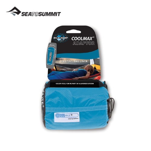 【SEATOSUMMIT】Coolmax 睡袋內套 STSACMAX(藍)