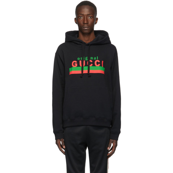 "Gucci 黑色""Original Gucci""连帽衫"