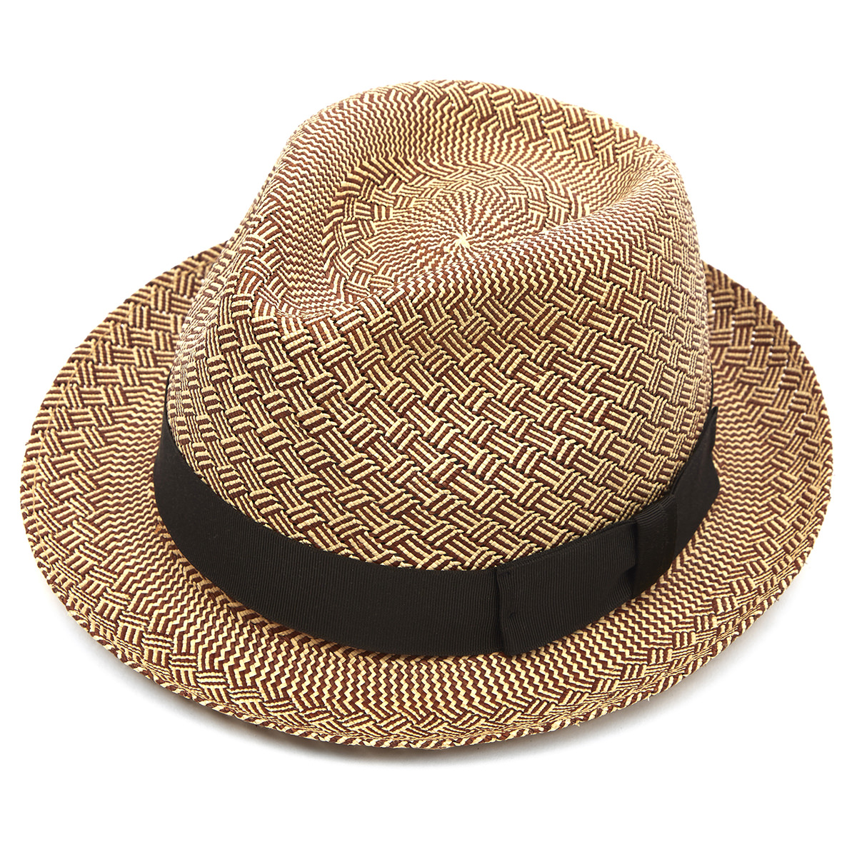 Carnaby Trilby Panama Hat - Cross Weave 55