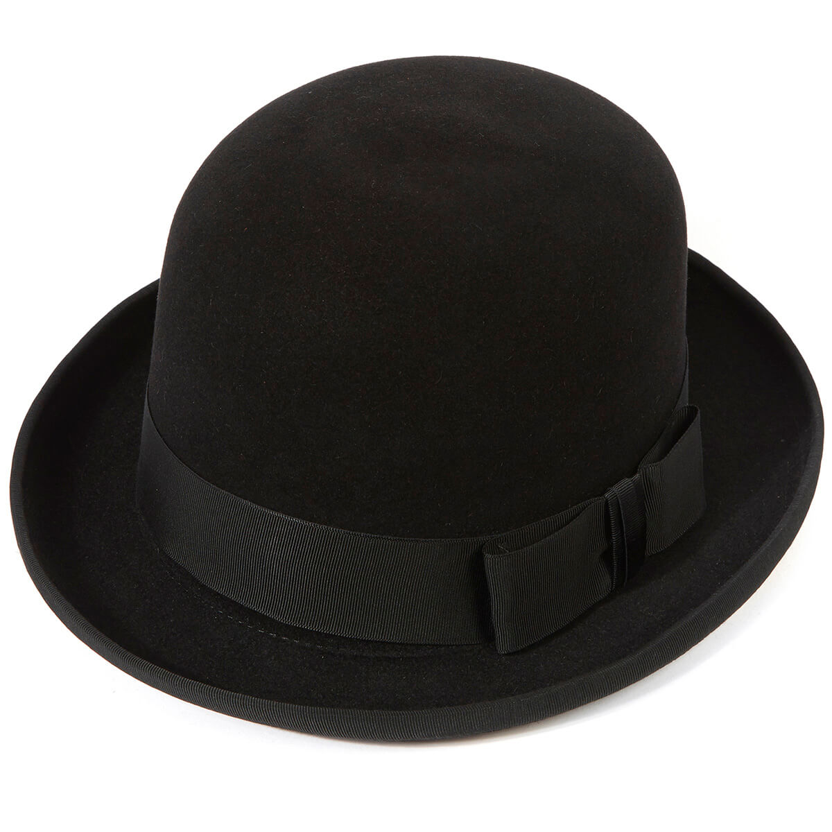 Homburg Hat - Black - 59cm (L)