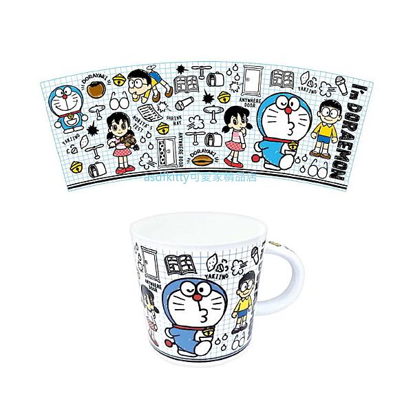 asdfkitty*哆啦A夢道具陶瓷馬克杯-250ML-日本正版商品