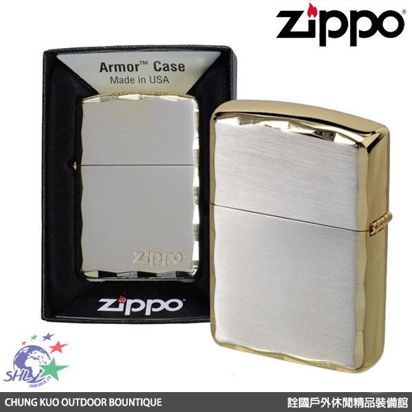 Zippo 日系 徽標 SG 金色 / Armor CASE(ZP656) 【詮國】