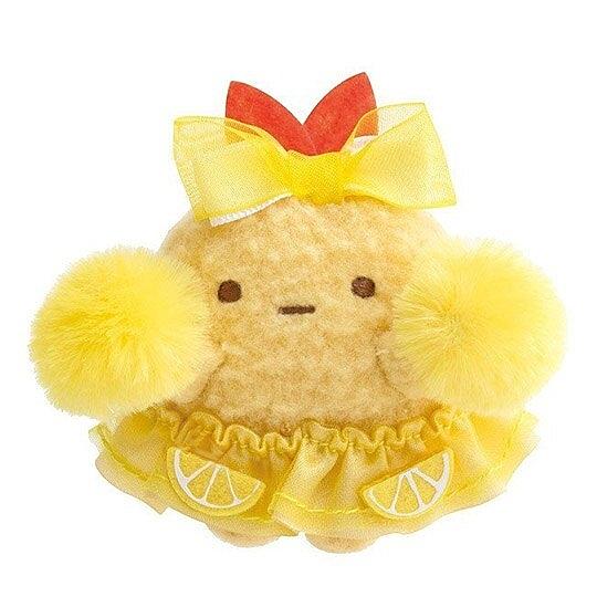 小禮堂 角落生物 炸蝦 迷你沙包玩偶 絨毛玩偶 沙包娃娃 (黃 啦啦隊) 4974413-76081