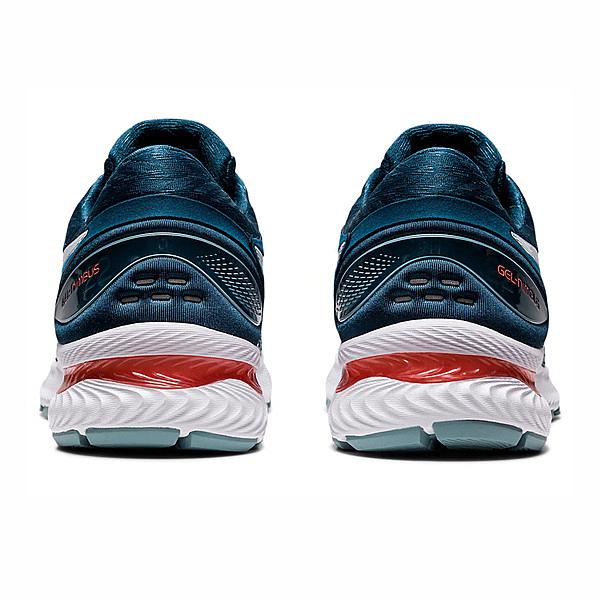 Asics Gel-nimbus 22(2e) [1011A685-404] 男鞋 慢跑 運動 休閒 輕量 緩震 綠藍