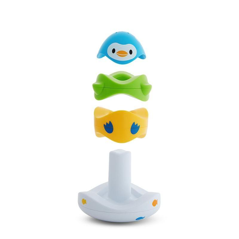 海洋動物疊疊樂洗澡玩具