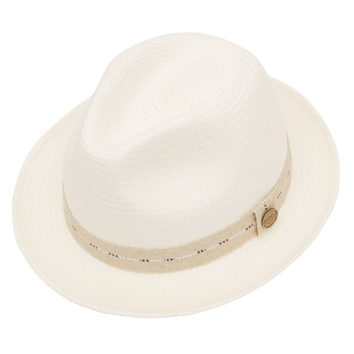 Cuenca Cameron Panama Hat - Bleached