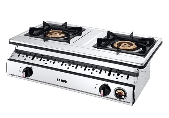 【SAMPO聲寶】智慧型銅心崁入爐(桶裝瓦斯LPG) GS-K0CS1P