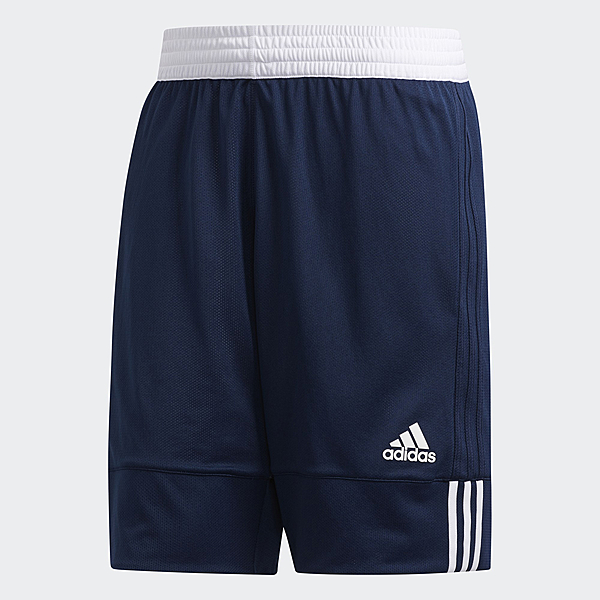 ADIDAS 3G SPEED REVERSIBLE 男裝 短褲 籃球褲 排汗 雙面穿 藍 白【運動世界】DY6602