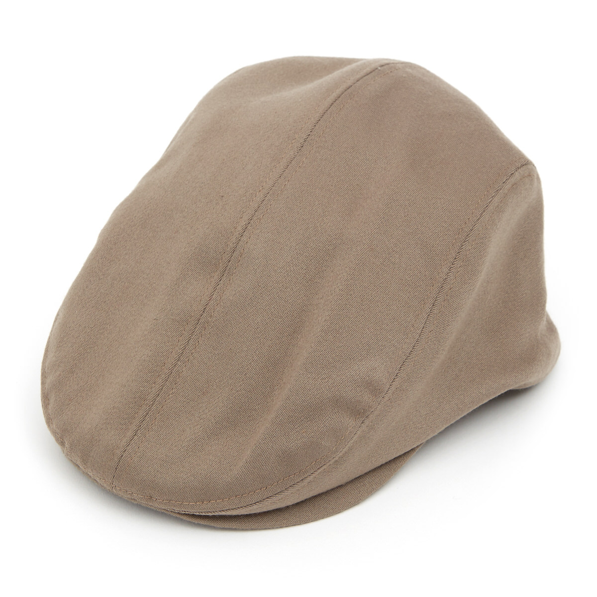 Ellis Tailored Driver Satin Wool Flat Cap