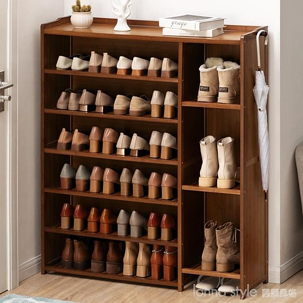 簡易鞋架子防塵收納置物架多層門口家用鞋櫃經濟型實木宿舍 新品全館85折 YTL
