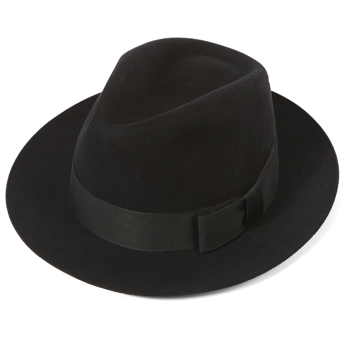 Bond Trilby - Black in size 62
