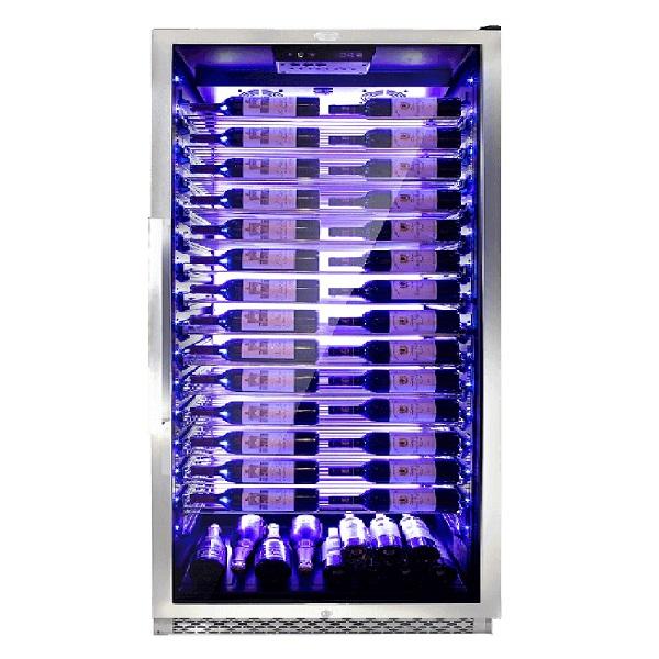 限量贈保冷袋 DIVIN DV-788SS 單門單溫葡萄酒櫃