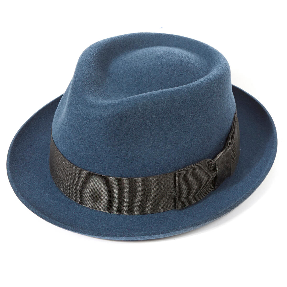 Whitstable Trilby Hat - Slate in size 57