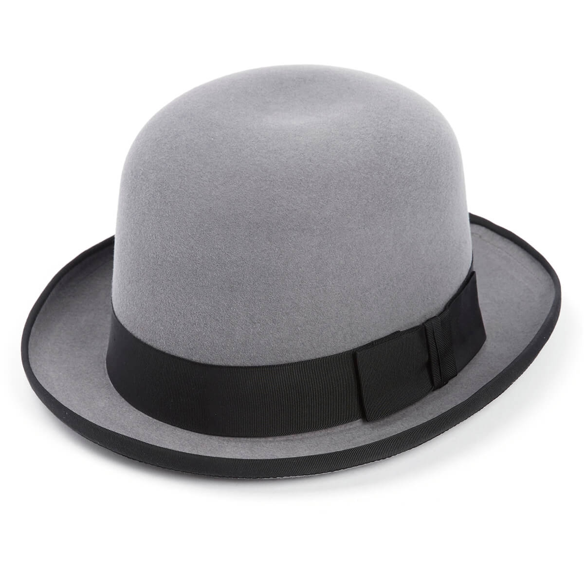The Homburg Fur Felt Hat Special -Silver Grey-62