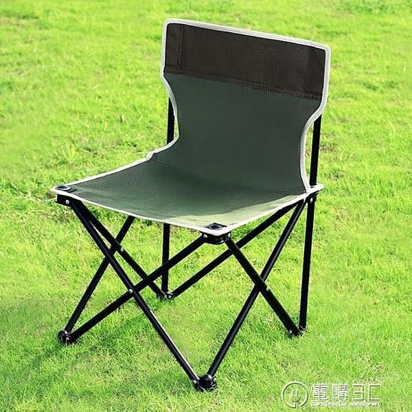 便攜戶外椅子折疊椅燒烤露營野炊椅子釣魚凳子牛津布椅子無紡布椅  聖誕節免運