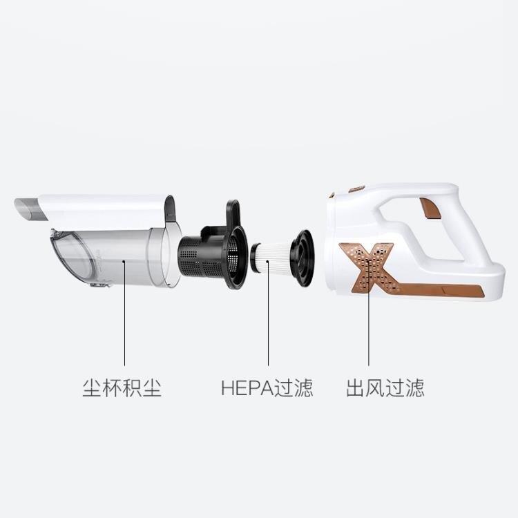 手持吸塵器 有線款 家用吸塵器手持除蟎小型吸塵機【全館免運 限時鉅惠】