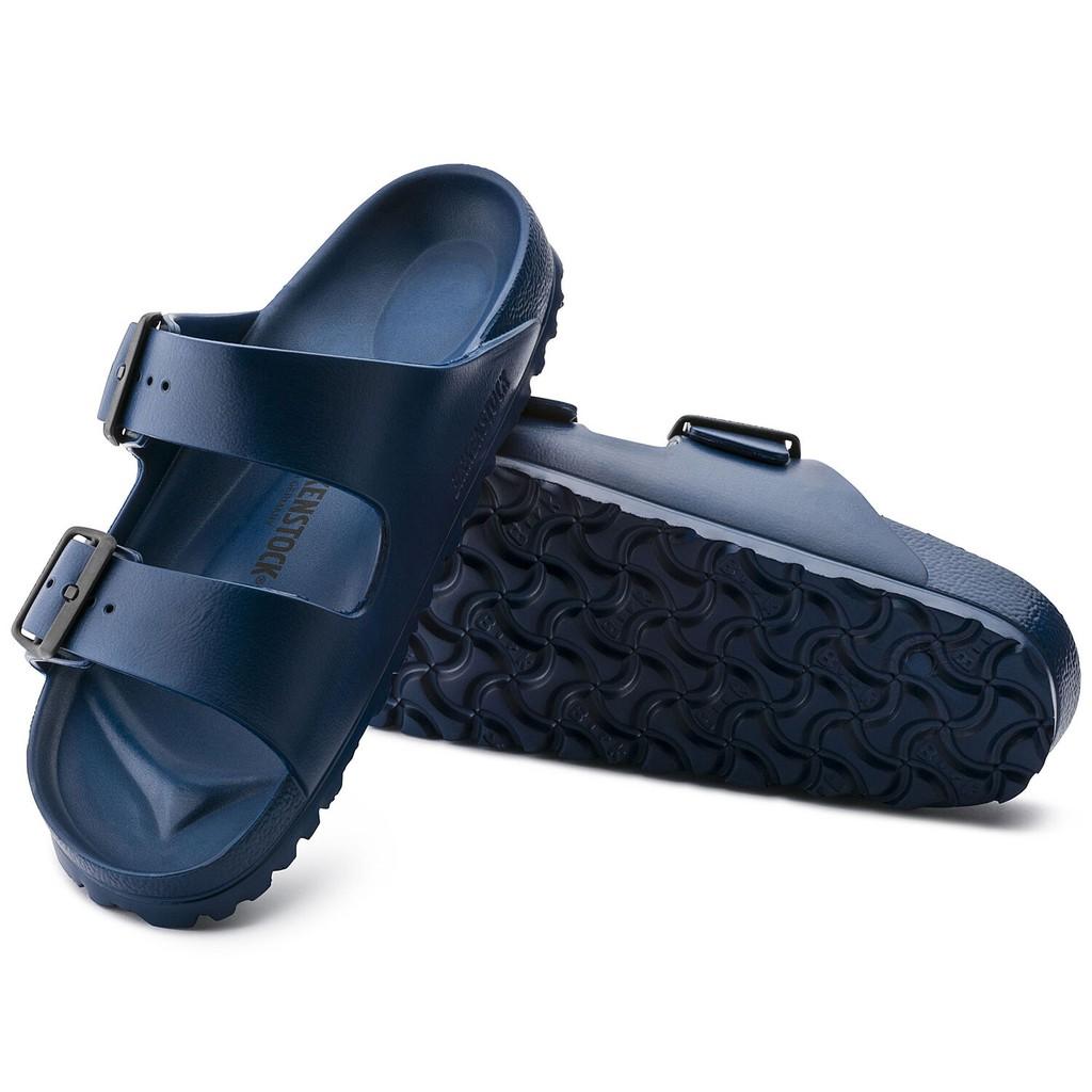 羅東勃肯 BIRKENSTOCK 防水EVA膠鞋 ARIZONA 兩條 基本色 海軍藍 129431