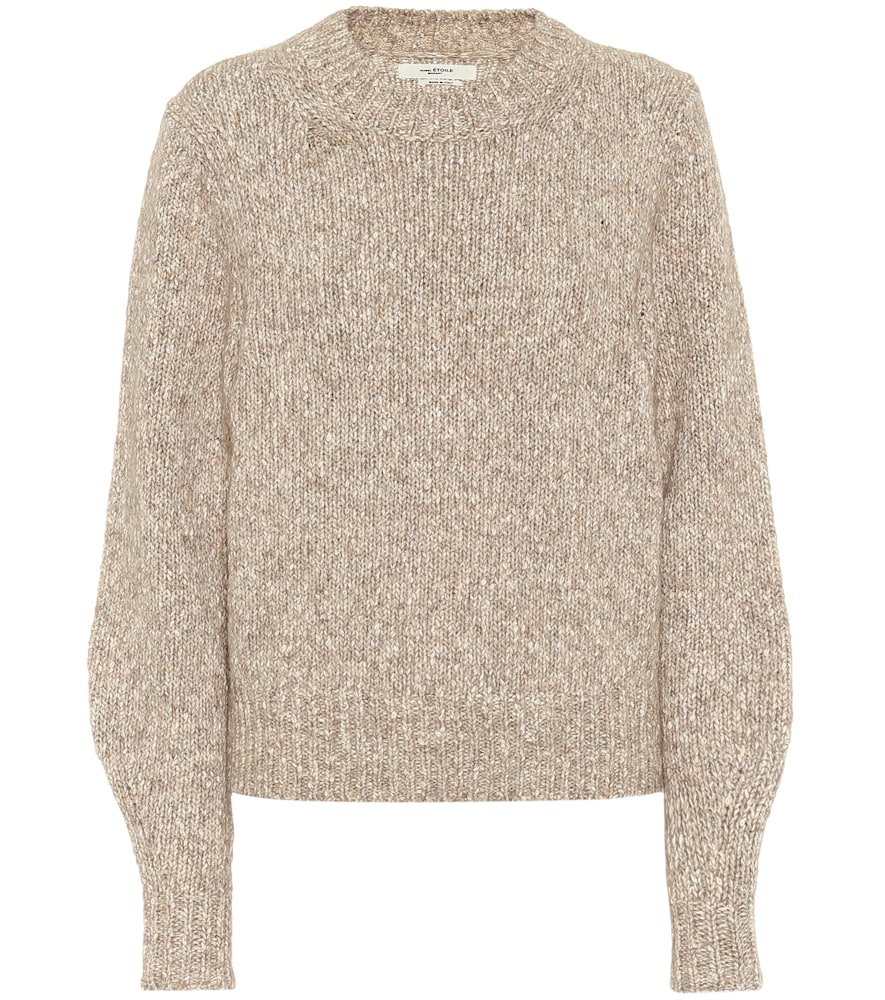 Ivah cotton-blend sweater