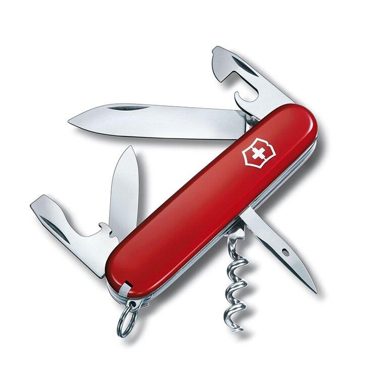 【VICTORINOX】Spartan瑞士刀1.3603 / 城市綠洲 (瑞士維氏、多功能、簡易工具、登山露營、居家旅遊)
