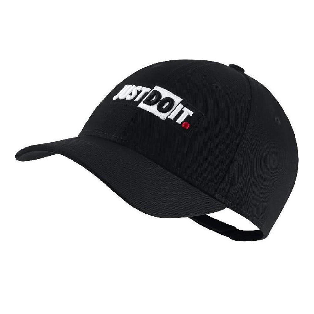 NIKE NSW Legacy91 老帽 基本 電繡 JUST DO IT 可調整 黑【運動世界】CQ9519-010