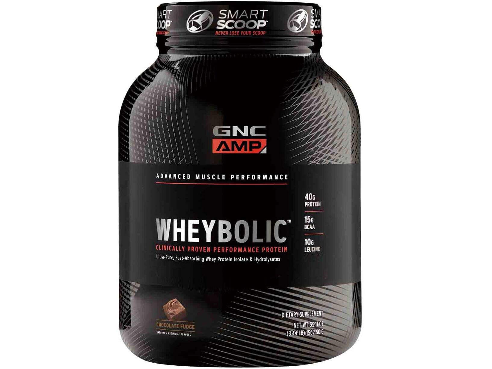 【GNC健安喜】AMP 超能飲品-巧克力口味 3磅 (乳清蛋白)