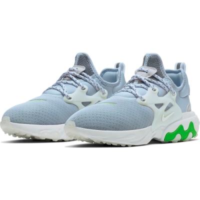 NIKE  休閒鞋 運動 輕量 透氣 舒適 避震 女 淺藍 CD9015-401 React Presto