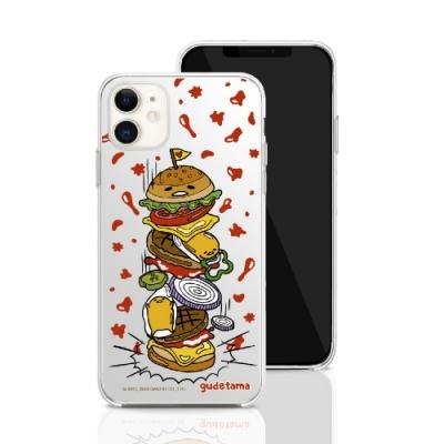 三麗鷗系列 iPhone 11 6.1吋 手機殼套裝組 蛋黃哥 千層漢堡