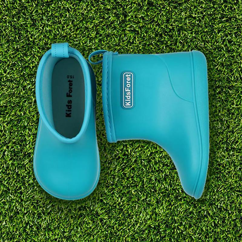 B81824B 水藍色 兒童雨鞋 20