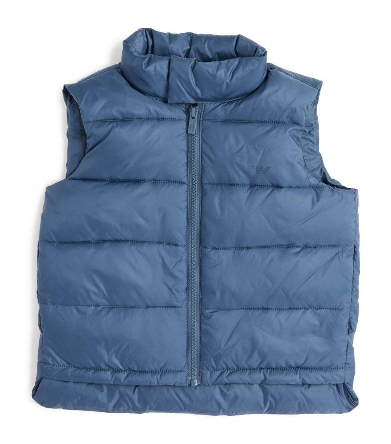Emporio Armani Kids Padded Gilet (4-16 Years)