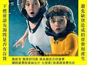 二手書博民逛書店火星救母記罕見迪士尼英文原聲動畫片1DVD光盤碟片 中英字幕同時