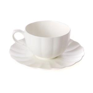 芙里花型輕量咖啡杯盤組