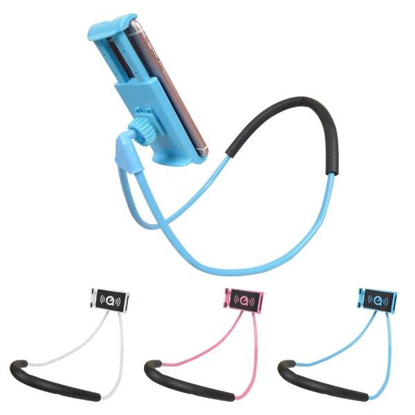頸掛式手機懶人支架 寶可夢 抓寶 手機架 平板架 蛇管 可彎曲 360度旋轉 掛脖式 可行動懶人架 手機座